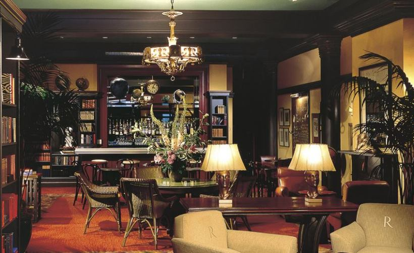 Bay Area Generations #11 was at the beautiful Hotel Rex, behind The Library Bar (pictured).