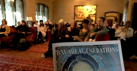 Bay Area Generations poetry and literary readings at Berkeley City Club